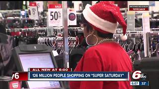 Shoppers flock to Indy stores for last-minute gifts - Video