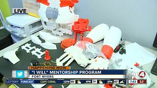 Mentorship program in Fort Myers focuses on positive life choices - 7:30am live report - Video