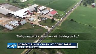 Sheriff: Pilot killed on impact in Sheboygan plane crash