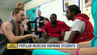 'American Idol' finalist with autism shares story, inspires Tampa Bay area students - Video