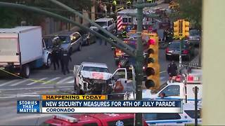 New security measures for Coronado 4th of July parade