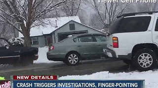 Crashes near parked Comcast truck triggers investigations - Video