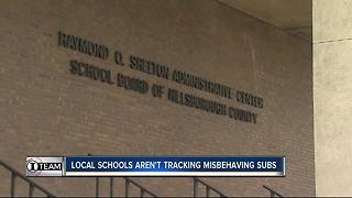 I-Team: Hillsborough school supervisors lacked oversight on substitute teachers who misbehave - Video