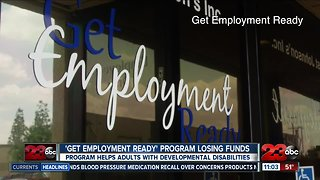 'Get Employment Ready' program losing funds