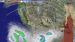 Rain chances coming to Phoenix
