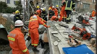 Illegal residential building collapses killing three in southern China
