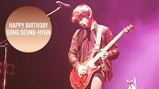 Meet this birthday boy: South Korean rocker Song Seung-hyun - Video