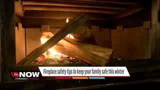Fireplace safety tips to keep your family safe this winter - Video