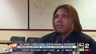 Baltimore Correctional Officer goes above and beyond to make difference in community - Video