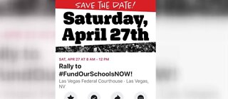Rally to fund education