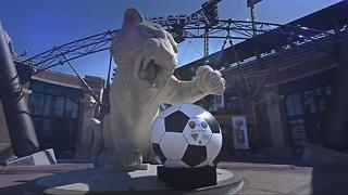 International Soccer at Comerica Park Wednesday