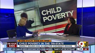 Child poverty in the Tri-State - Video