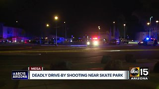Man killed in deadly drive-by shooting