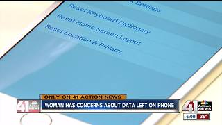 Phone privacy concerns arise in data clearing at Olathe Sprint store - Video