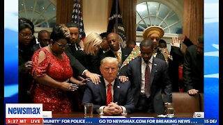 Terrence Williams Discusses Praying for Trump and His Sacrifices for America