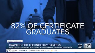 Google offers certificate program to get into high-demand careers without a college degree