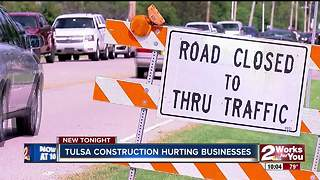 Businesses take a hit as construction persists on 101st Street into the school year - Video