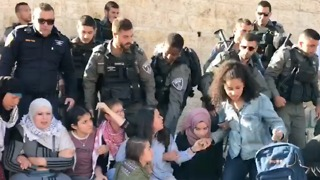 Security Forces Remove Protesters From Damascus Gate Following Deadly Gaza Protests - Video