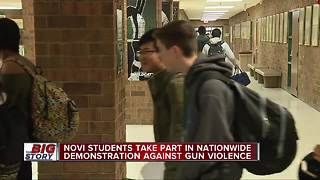 School walkouts happening in metro Detroit, across US - Video