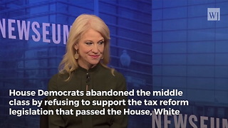 Kellyanne Conway: We Can't Find A Single Democrat To Support Middle-Class Tax Relief - Video