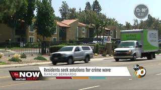Rancho Bernardo neighbors may hire guards - Video