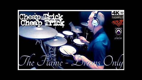 Cheap Trick - The Flame - Drums Only (4K Video)