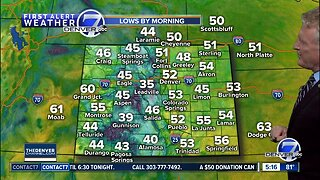 80s in Denver today, cooler this weekend
