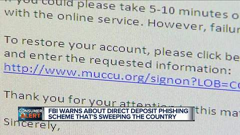 FBI warns hackers are trying to reroute your direct deposit paycheck