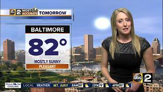 Maryland's Most Accurate Forecast - Nice Monday - Video