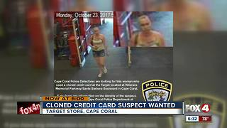 Cape Coral Police search for credit card clone thief - Video