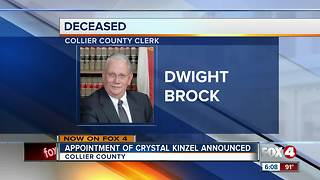 Governor Scott announces appointment of Collier Clerk