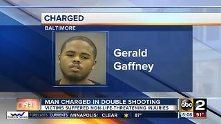 Man charged with Easter weekend double shooting