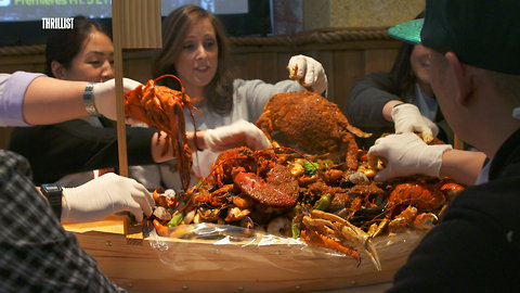 Taste All the Seafood on This 32-Pound Platter