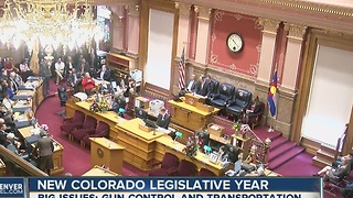 New Colorado legislative year - Video