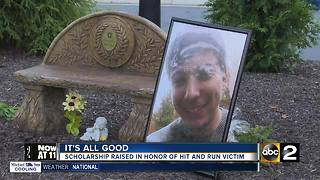 Scholarship started in honor of hit-and-run victim - Video