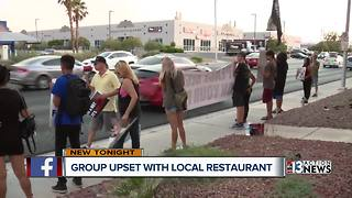 Restaurant protests continue - Video