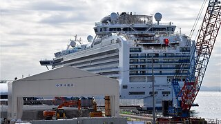 Coronavirus Test Kits Delivered By Air To Cruise Ship