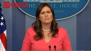 Watch: Reporter Learns It's A Mistake To Ask Sarah About Children At Border - Video