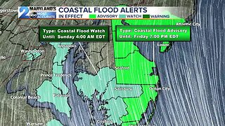 Coastal Flooding Issues This Weekend