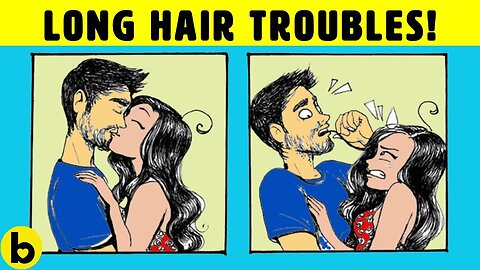 14 Painful Truths About Having Long Hair