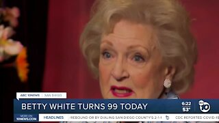 Betty White turns 99 today