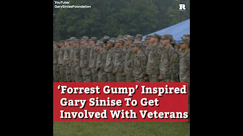 'Forrest Gump' Inspired Gary Sinise To Get Involved With Veterans