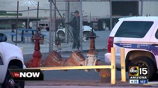Suspect in custody after shooting with Phoenix police - Video
