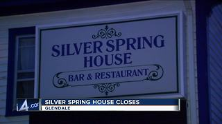 Silver Spring House closes after over 100 years - Video