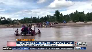 Hundreds dead, thousands displaced as storm batters the Philippines - Video