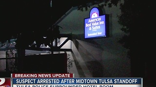 Man arrested after standoff in Midtown Tulsa - Video