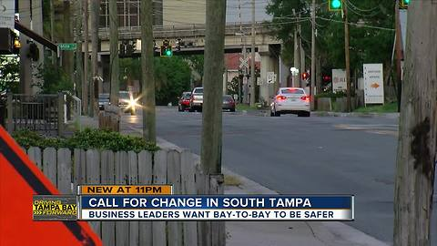 South Tampa businesses demand Bay to Bay safety improvements | Driving Tampa Bay Forward