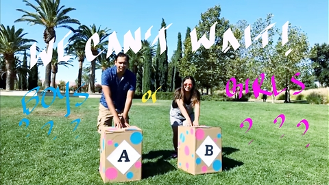Parents-To-Be Throw Heartwarming Gender Reveal For Their Twin Babies