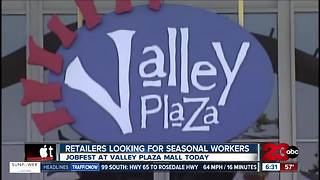 Job Fair: Over two dozen stores at Valley Plaza Mall looking for seasonal employees - Video