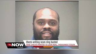 Man indicted for counterfeit check scam - Video